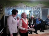 Новогодние поздравления от «Серебряных волонтеров» Рыбинского дома-интерната